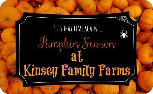 Kinsey Family Farm: 2016 Fall Pumpkin Season