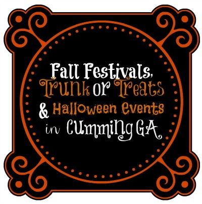 October events in Cumming GA & Forsyth County