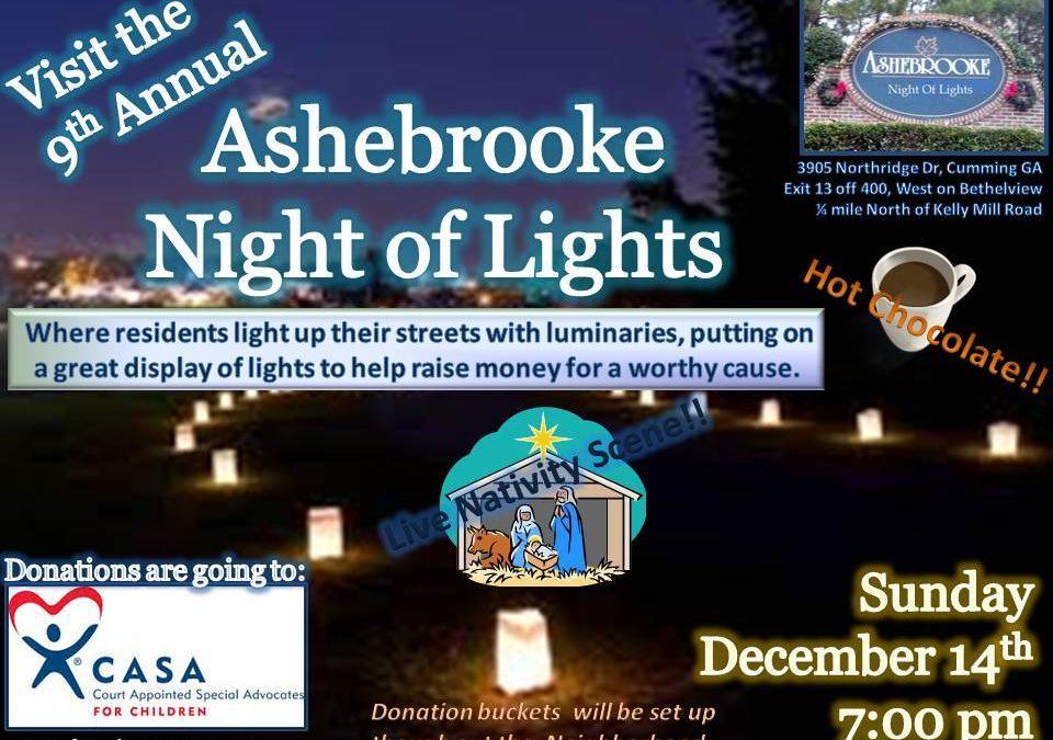 Ashebrooke Night of Lights 2014