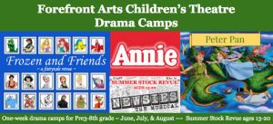 Forefront Arts 2015 Summer Camp