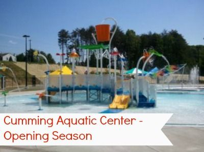 Cumming Aquatic Center 2017 Season Opening