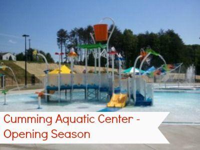 Cumming Aquatic Center grand Opening