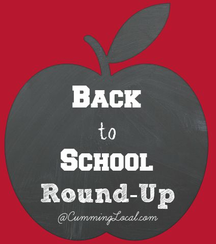 Back to School Round-UP