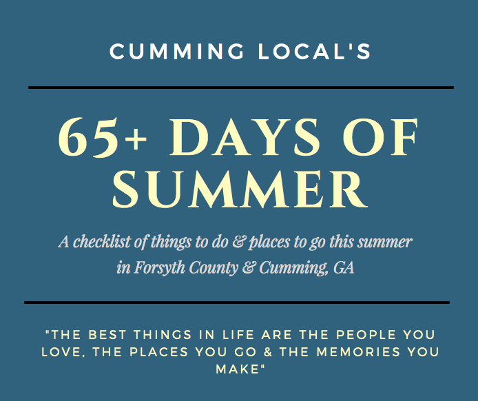 65+ Days of Summer Things To Do In Forsyth County