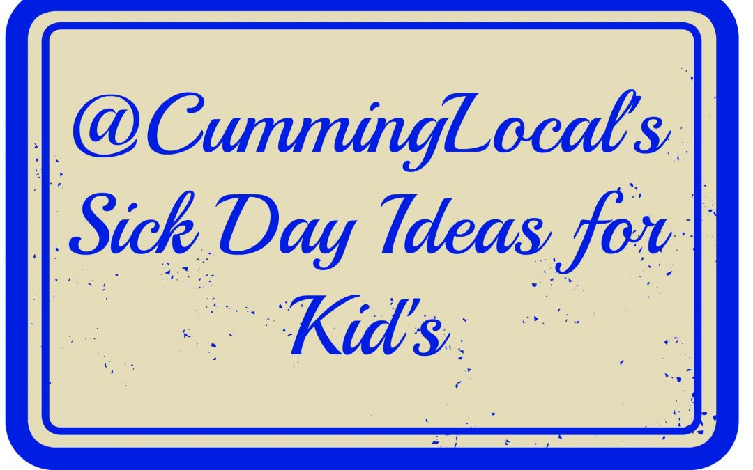 Sick Day Ideas for Kids