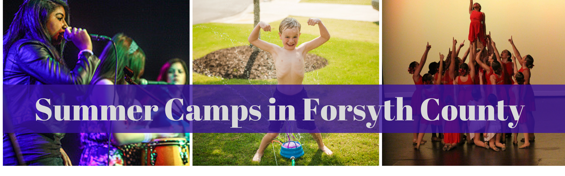 Summer Camps in Forsyth County