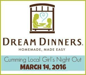 Girl's Night Out 2016: Dream Dinners March 14