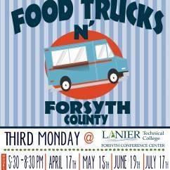 Food Trucks in Forsyth County {2017}