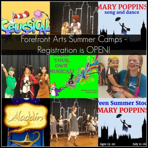 Why Choose a Forefront Arts Children's Theatre Drama Camp for your Child or Teen?