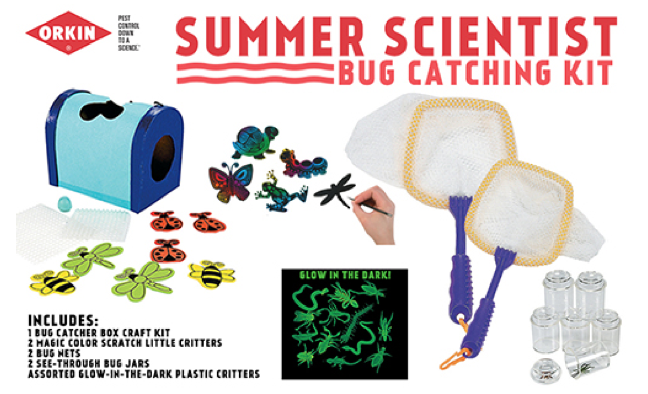 Win an Orkin Summer Scientist Bug Catching Kit
