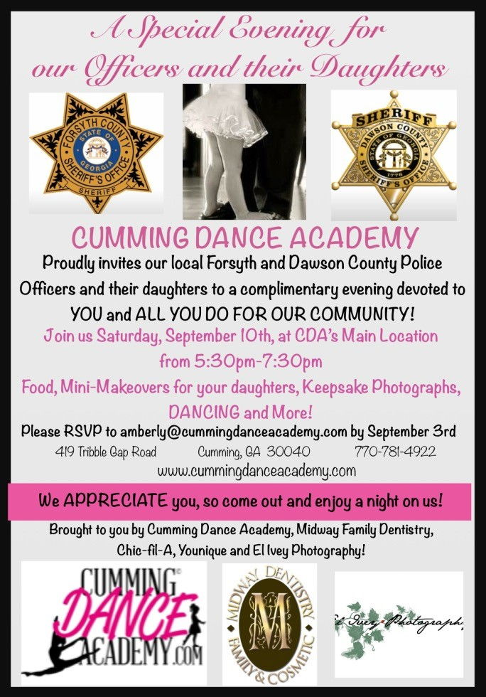 Evening with Dads & Daughters 2016
