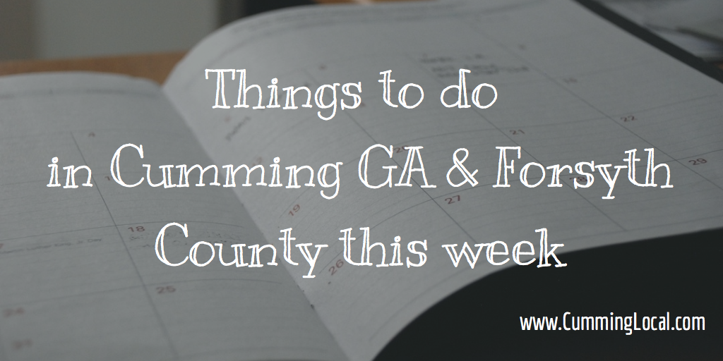 Things to do in cumming ga