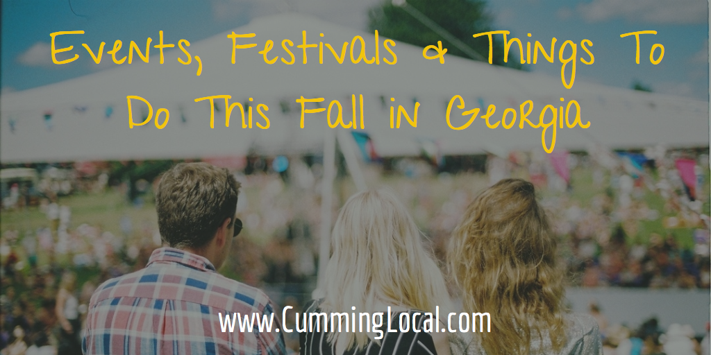 Events Festivals Things to Do this Fall in Georgia