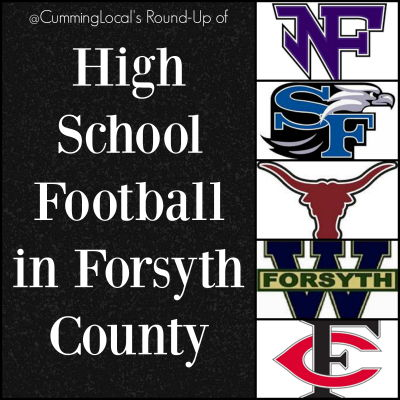 High School Football in Forsyth County 2017