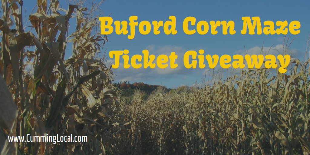 Buford Corn Maze Ticket Giveaway