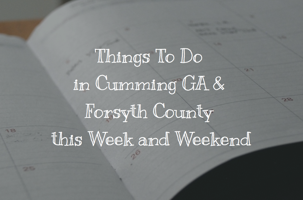Things to Do in Cumming GA This Week of January 23