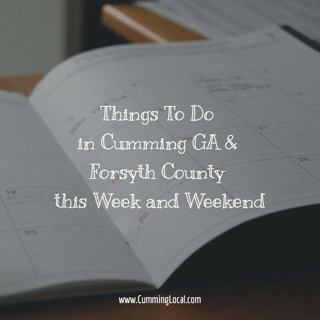 Things to Do in Cumming GA This Week of February 27