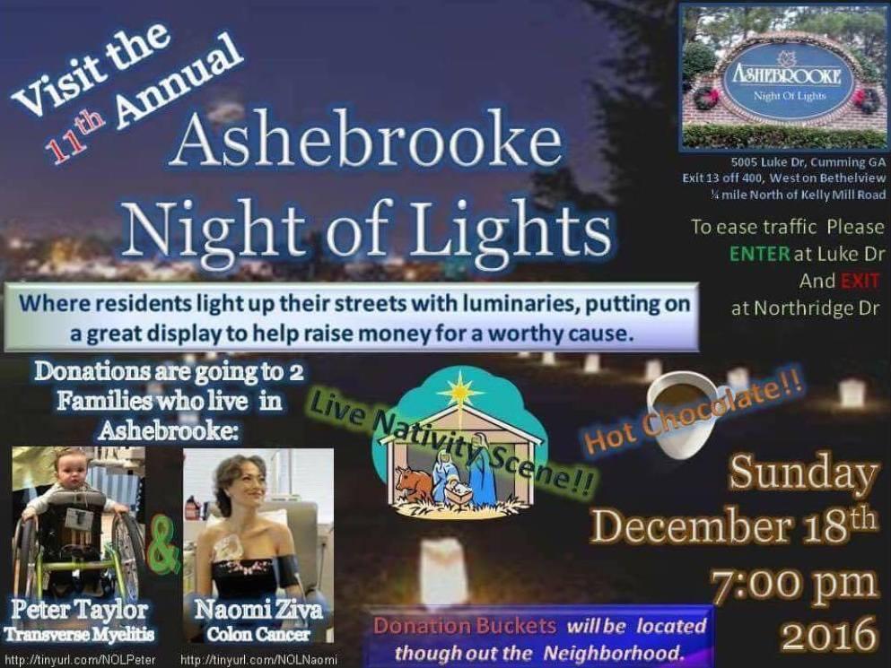 Ashrbrooke Night Of Lights