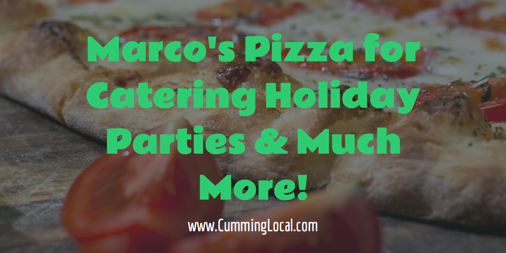 Marco's Pizza for Catering Holiday Parties & More!