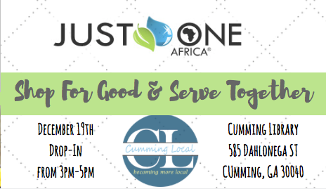Shop for Good & Serve Together – December 19th