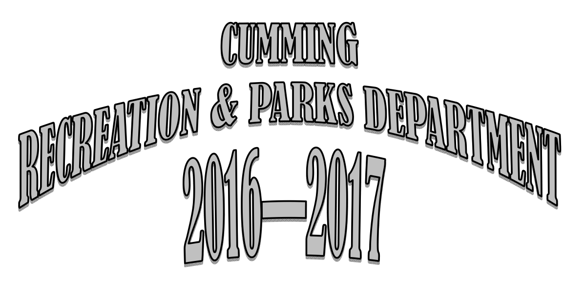 Cumming Parks & Recreation:  Fall/Winter Program Registration {2016-2017}