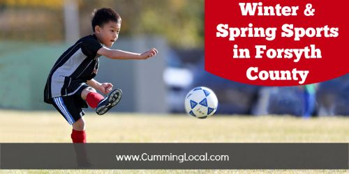 Winter & Spring Sports in Forsyth County