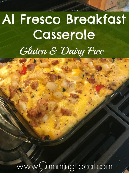Al Fresco Breakfast Casserole {Gluten & Dairy Free}