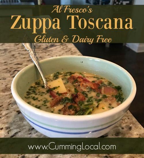 Al Fresco's Dairy & Gluten Free Zuppa Toscana