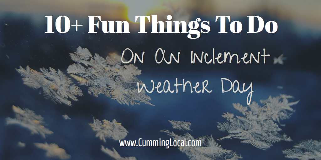 inclement weather day
