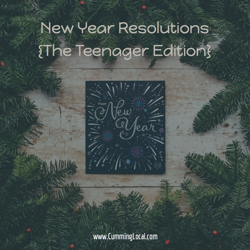 New Year Resolutions {The Teenager Edition}