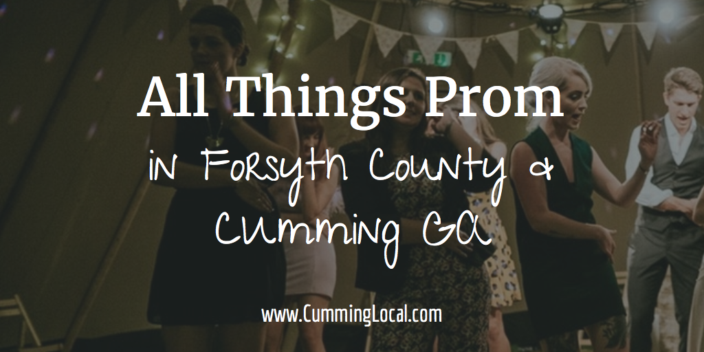 All Things Prom in Forsyth County