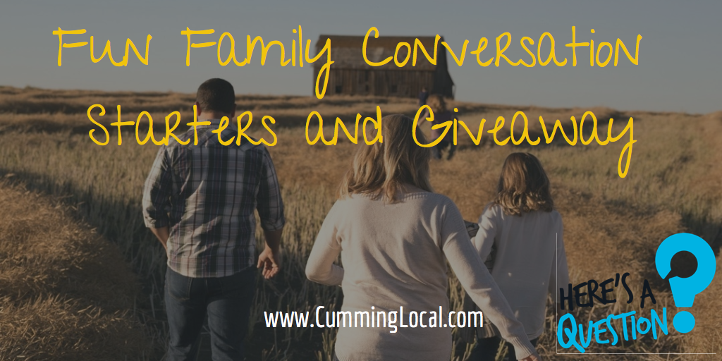 Fun Family Conversation Starters From Here's A Question