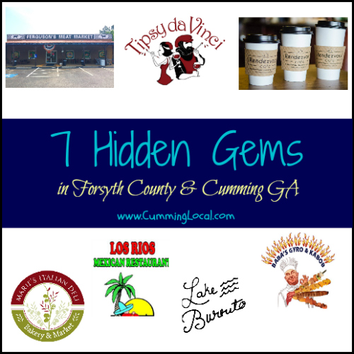 7 Hidden Gems in Forsyth County