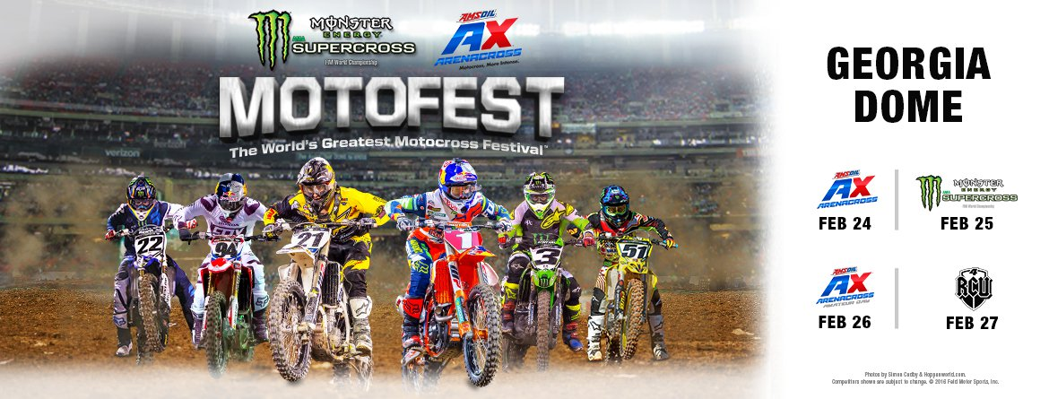 Motofest 2017: The World's Greatest Motocross Festival
