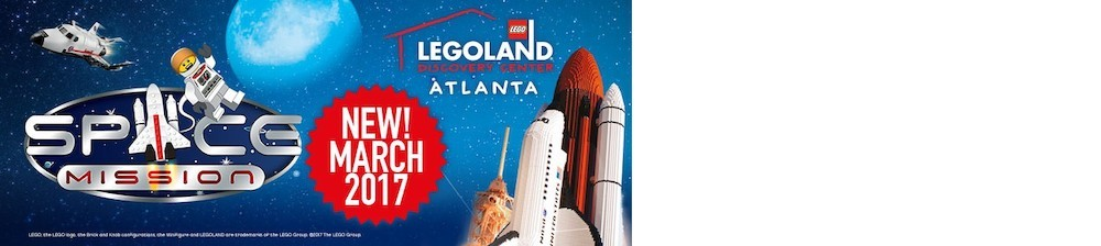 LEGOLAND® Discovery Center Atlanta Launches New Space Mission Exhibit
