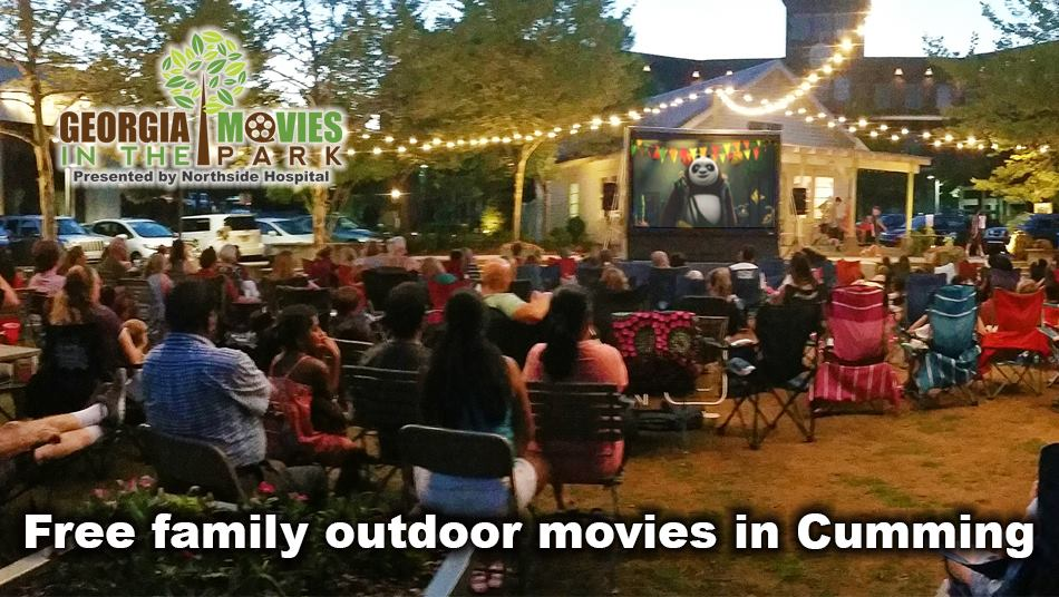 Free Outdoor Summer Movies in Cumming GA & Forsyth County