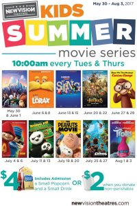 Summer Movies for Kids at Movies 400 @ Movies 400 | Cumming | Georgia | United States