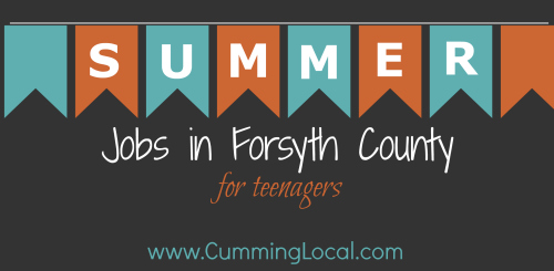 Summer Jobs in Forsyth County for Teenagers