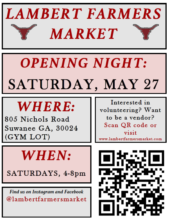 New Farmers Market Opening This Saturday: Lambert Farmers Market