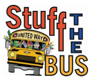 Help United Way of Forsyth County Stuff the Bus