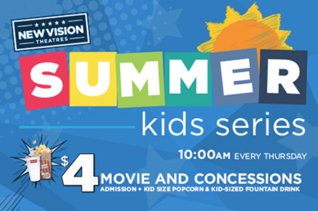 Summer Movies for Kids at Movies 400 {2018}
