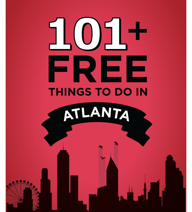 101+ Free Things To Do in Atlanta GA Book
