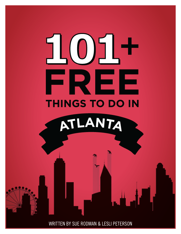 101+ Free Things To Do in Atlanta GA Book & Giveaway