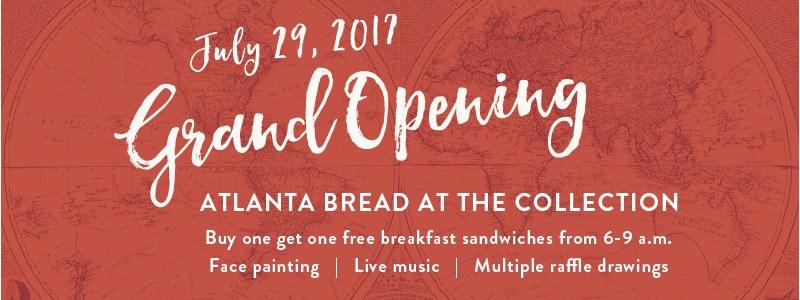 Atlanta Bread & Bar Grand Opening in Cumming GA