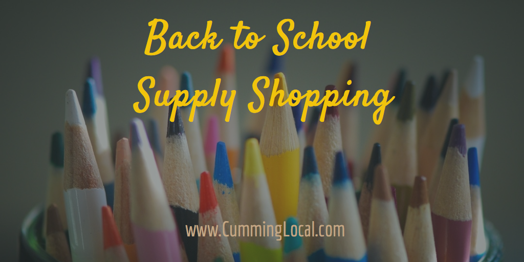 Back to School Supply Shopping