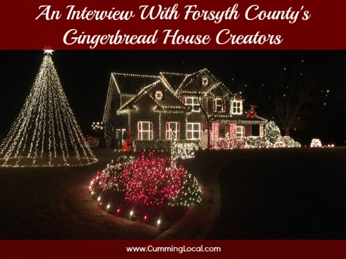 An Interview with Forsyth County's Gingerbread House Creators