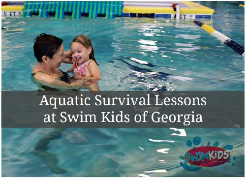 Aquatic Survival Lessons at Swim Kids of Georgia