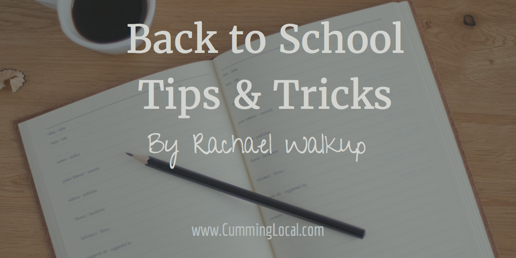 Back To School Tips & Tricks I've Learned To Keep Us Organized