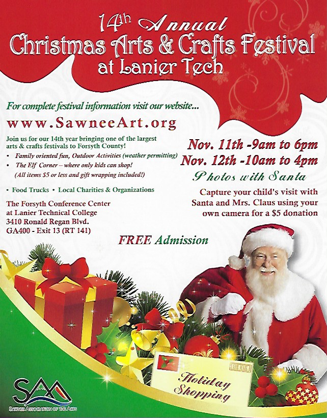 Christmas Arts And Crafts Festival At Lanier Tech