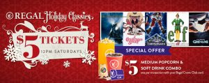 Regal Holiday Classics ($5 Movies) @ Regal Cinemas  | Alpharetta | Georgia | United States